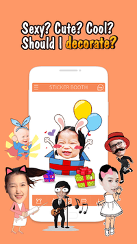 StickerBooth APK screenshot 1