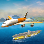 Flight Pilot Plane Landing Flight Simulator Game FOR PC