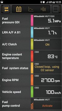 CarBit ELM327 OBD2 APK screenshot 1
