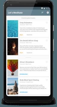 Let's Meditate: Guided Meditation APK screenshot 1