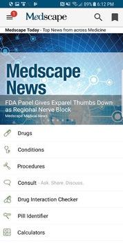 Medscape APK screenshot 1