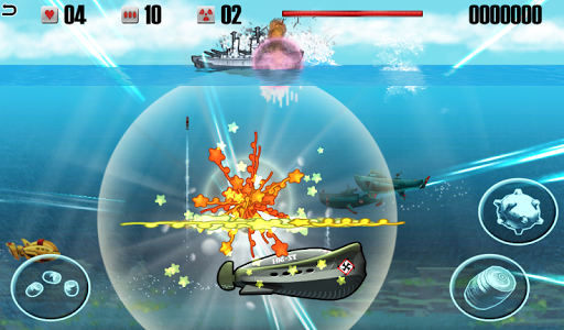 Battleship vs Submarine - War Machines Battle apk screenshot 1