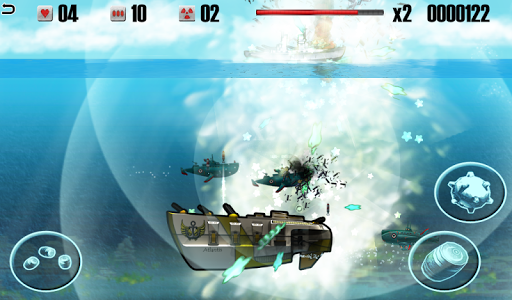 Battleship vs Submarine - War Machines Battle apk screenshot 2