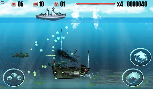 Battleship vs Submarine - War Machines Battle apk screenshot 3