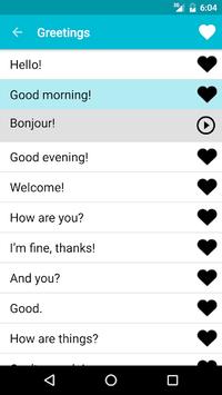 Learn French Free APK screenshot 1