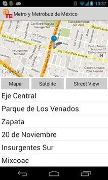 Metro y Metrobus de Mexico APK screenshot 1