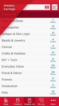 Michaels Stores APK screenshot 1