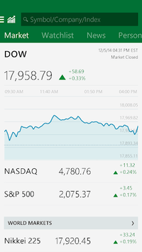 MSN Money- Stock Quotes & News APK screenshot 1