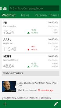 MSN Money- Stock Quotes & News APK screenshot 1