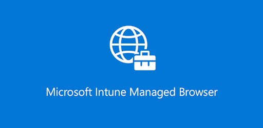 Intune Managed Browser pc screenshot