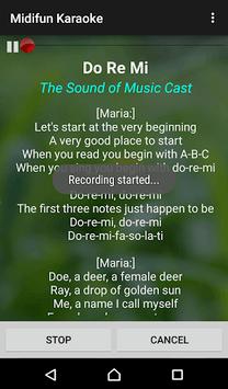 Midifun Karaoke APK screenshot 1