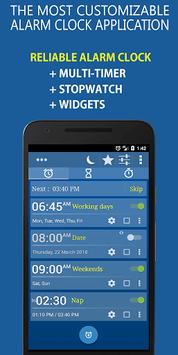 Alarm Clock & Timer & Stopwatch & World Clock screenshot 1