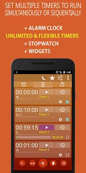 Alarm Clock & Timer & Stopwatch & World Clock screenshot 2