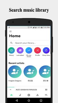 Music - MX Mp3 Player APK screenshot 1