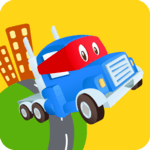 Car City World: Little Kids Play Watch TV & Learn icon