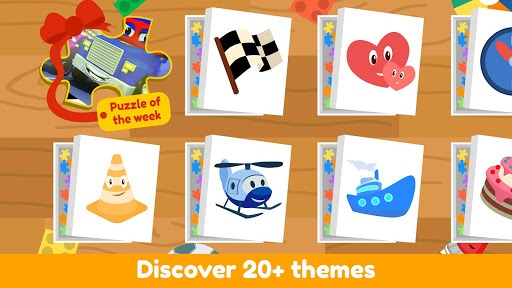 Car City Puzzle Games - Brain Teaser for Kids 2+ APK screenshot 1