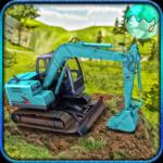 Sand Excavator Crane - City Expansion Simulator icon