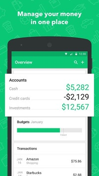 Mint: Budget, Bills, Finance APK screenshot 1