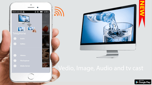 Video & TV Cast - Miracast Display on tv APK screenshot 1