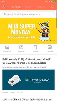 Xiaomi MIUI Forum APK screenshot 1