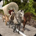 Farming Horse Carriage Transport Simulator 2018 icon
