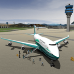Plane landing Simulator 2018 icon