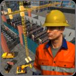 Supermarket Construction Games:Crane operator icon