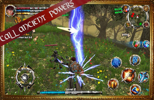 Kingdom Quest Crimson Warden 3D RPG APK screenshot 1