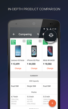 Mobile Price Comparison App APK screenshot 1