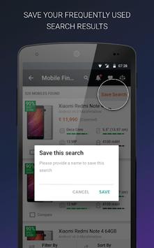 Mobile Price Comparison App APK screenshot 1
