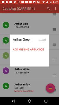 CodeApp - Add Country Code (Jamaica) APK screenshot 1