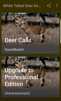 Deer Hunting Calls Soundboard APK screenshot 1