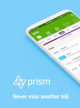 Prism Pay Bills, Money Tracker, Personal Finance APK screenshot 1
