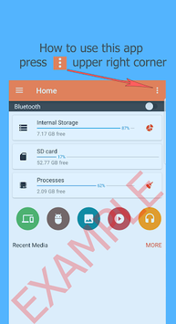 Bluetooth Files Transfer APK screenshot 1