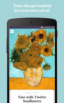 DailyArt - Your Daily Dose of Art History Stories APK screenshot 1