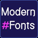 Modern Fonts for FlipFont FOR PC