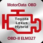Doctor Hybrid ELM OBD2 scanner. MotorData OBD icon