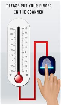 Finger Body Temperature Prank APK screenshot 1