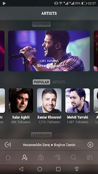 MrTehran - Iranian Music APK screenshot 1