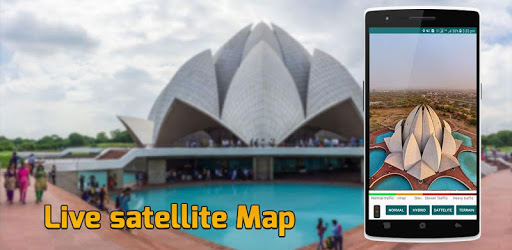Live Earth Map Real Time: Satellite View GPS Track for PC