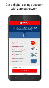 Kotak - 811 & Mobile Banking APK screenshot 1