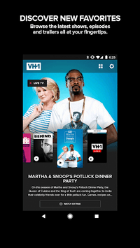 VH1 APK screenshot 1