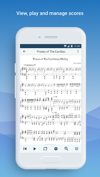 MuseScore: view and play sheet music APK screenshot 1