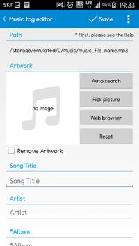 Star Music Tag Editor APK screenshot 1