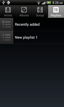Default Music Player APK screenshot 1