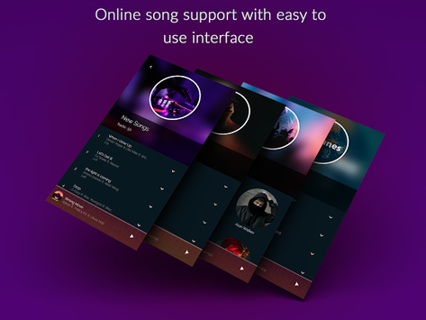 Musicana Music Player APK screenshot 1