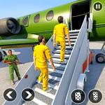 Army Prisoner Transport: Truck & Plane Crime Games icon