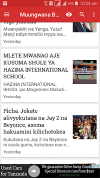 Muungwana Blog APK screenshot 1