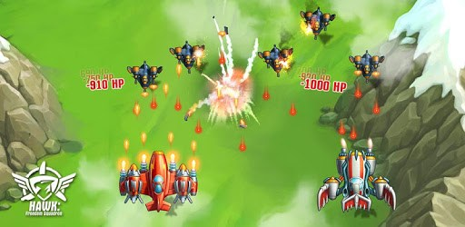 HAWK – Force of an Arcade Shooter. Shoot 'em up pc screenshot