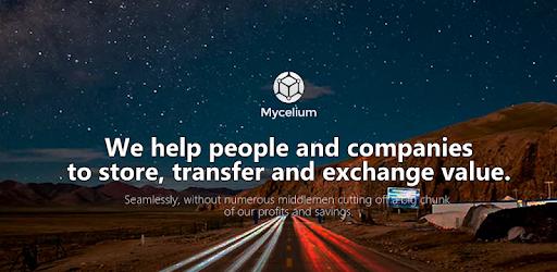 Mycelium Bitcoin Wallet pc screenshot